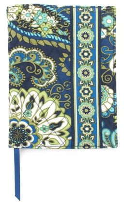 Vera Bradley Rhythm & Blues Fabric Paperback Bookcover (5.5X7.75)
