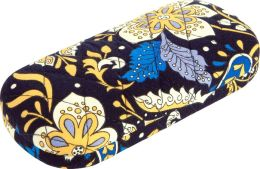 Vera Bradley Ellie Blue Hard Eyeglass Case (6 x 2.75)