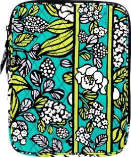 Vera Bradley Island Blooms Tablet Sleeve (8x 10.25 x .63)