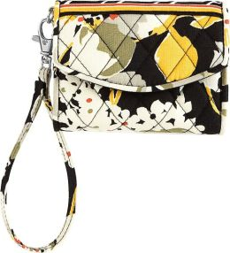 Vera Bradley Dogwood Super Smart Phone Wristlet