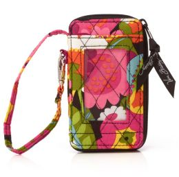 Vera Bradley VaVa Bloom All in One Wristlet (3x5.25x.75)