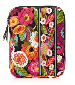Vera Bradley VaVa Bloom Tablet Sleeve (8x 10.25 x .63)