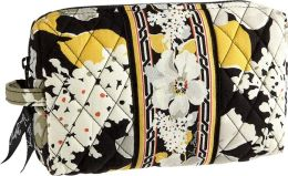 Vera Bradley Dogwood Medium Cosmetic Case (8X4.25X2.25)