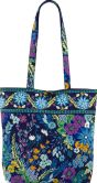 Product Image. Title: Vera Bradley Midnight Blues Fabric Tote 15&quot; x 13&quot;