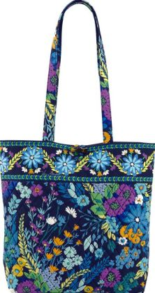 Vera Bradley Midnight Blues Fabric Tote 11.75
