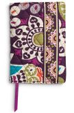 Product Image. Title: Vera Bradley Plum Crazy Paperback Bookcover 5.5'' x 7.75''