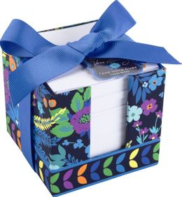 Vera Bradley Midnight Blues Paper Note Cube 3.75