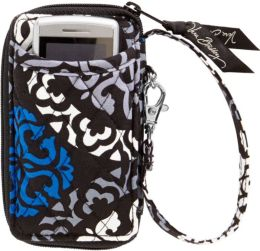 Vera Bradley Canterberry Cobalt All in One Wristlet 3