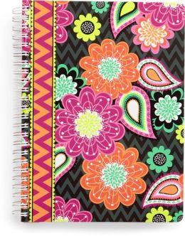 Vera Bradley Ziggy Zinnia Mini Notebook