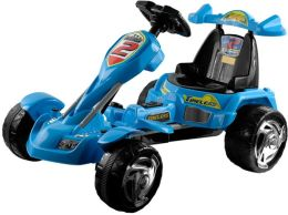 Lil' RiderT Blue Ice Battery Operated Go-Kart