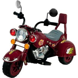 Lil' RiderT Maroon Marauder Motorcycle - Three Wheeler