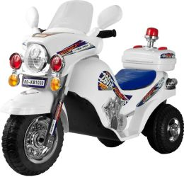 Lil' Rider White Lightning Police Cruiser Battery Operated