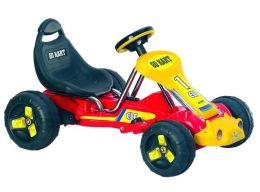 Lil' Rider Red Racer Battery Powered Go-Kart