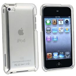 BasAcc - Snap-on Crystal Case Compatible With Apple® iPod touch® 4th Gen, Clear