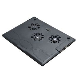 BasAcc - SYBA SY-NBCP-4U 3-Fan Laptop Cooler Pad with 4-USB Ports