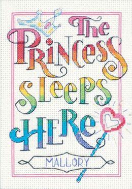 The Princess Mini Counted Cross Stitch Kit-5