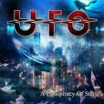 CD Cover Image. Title: A Conspiracy of Stars [LP+CD] [Blue Vinyl], Artist: UFO