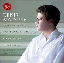 Tchaikovsky, Shostakovich: Piano Concertos