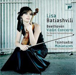 Beethoven: Violin Concerto / Tsintsadze: Miniatures