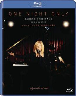 One Night Only: Barbra Streisand & Quartet at the Village Vanguard