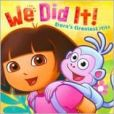 CD Cover Image. Title: We Did It!: Dora's Greatest Hits, Artist: Dora the Explorer