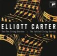 CD Cover Image. Title: Elliott Carter: The Five String Quartets, Artist: Juilliard String Quartet