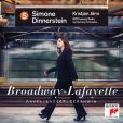 CD Cover Image. Title: Broadway-Lafayette: Ravel, Lasser, Gershwin, Artist: Simone Dinnerstein