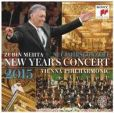CD Cover Image. Title: New Year's Concert 2015, Artist: Vienna Philharmonic Orchestra