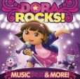 CD Cover Image. Title: Dora Rocks! Music from the Special &amp; More!, Artist: Dora the Explorer