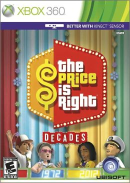 The Price is Right Decades X360 Kinect