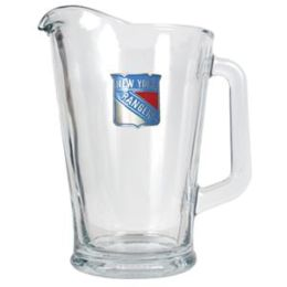 Great American Products New York Rangers NHL 60oz Glass Pitcher - Primary Logo