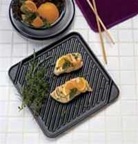 CHEFS DESIGN Single Burner Reversible Grill Griddle - 3550