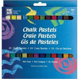 Chalk Pastels 24/Pkg
