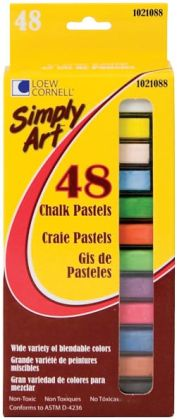 Simply Art Chalk Pastels 48/Pkg