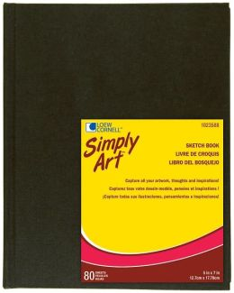 Simply Art Archival Sketchbook 80 Sheets-5-1/4