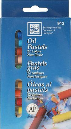Oil Pastels 12/Pkg