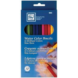 Watercolor Pencils 12/Pkg