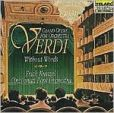 CD Cover Image. Title: Verdi without Words: Grand Opera for Orchestra