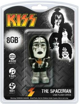 KISS 8 GB USB Flash Drive, Ace Frehley Spaceman