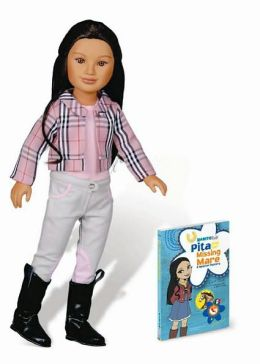 Karito Kids Pita from Mexico World Collection Doll & Book Combo