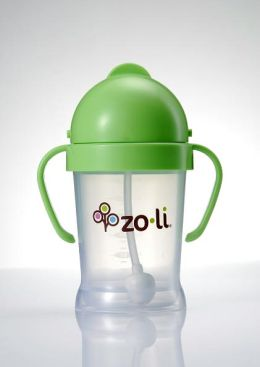 Zo-li Inc. BOT BPA-free 6oz PP Straw Sippy Cup. Green