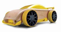 Automoblox C9R-m Yellow Sportscar
