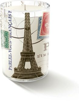 ''Eiffel'' Small Glass Candle