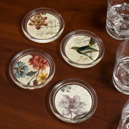 Arbor Glass Coasters Set of 4