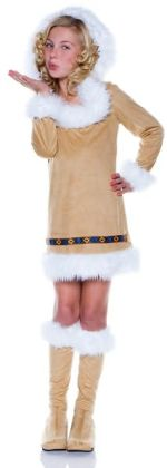 Eskimo Girl Child Costume: Size Large
