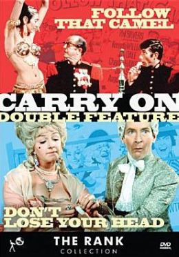 Rank Collection: Carry on Double Feature - Don't Lose Your Head/Follow That Camel
