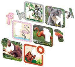 Smart Play Zafari Animal Alphabet Bilingual Puzzle