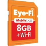 Eye-Fi Mobile X2 EYE-FI-8MD 8 GB Secure Digital High Capacity (SDHC) - 1 Card