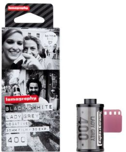 Lomography f435bw3 35mm Lady Grey Film 400 3-pack