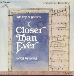 Closer Than Ever [Original Cast]